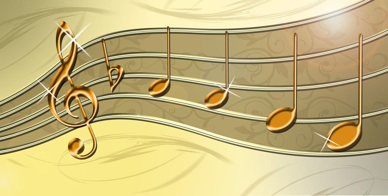 Note in Gottes Melodie (c) Uki_71 auf Pixabay